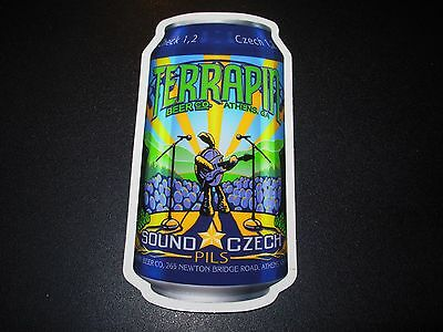 TERRAPIN Athens Georgia SOUND CZECH Can STICKER decal craft beer brewing brewery