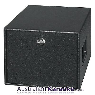 USED HK Audio Power Works RS 15 SUB Active Subwoofer 600 Watts (300W +150W x 2)
