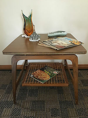 Rare Vintage Retro Coffee Table Side Lamp Table