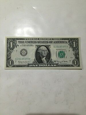 UNC 1963 Series A $1 Dollar Bill Federal Reserve Note