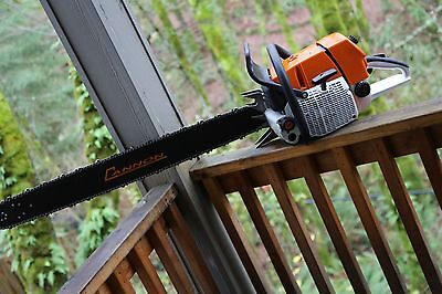 660 CHAINSAW 36 inch Cannon bar and Oregon Chisel chain