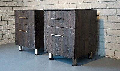 2x Modern Bedside Tables, Brand New, Beautiful & High Quality! BUY NOW! SAVE $20