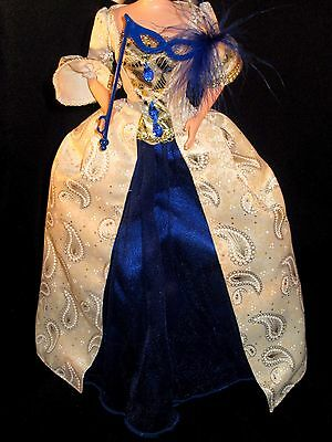 french revolution style 1780's dress gown dress fit model muse silkstone Barbie