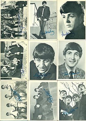 1964 TOPPS The Beatles Trading Cards Series 1, 2 & 3 Partial Set VG-EX 119/165