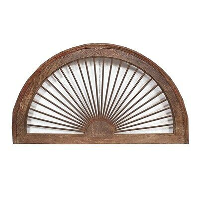 Silkroute OW88768  Old Door Iron Ventilator