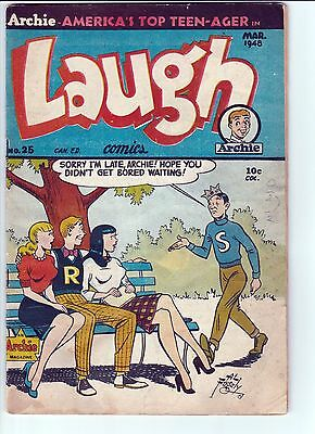 Laugh Comics #25 (1948, Archie) VERY SCARCE Canadian edition!