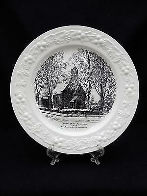 Vintage Souvenir Commemorative Plate Church of the Ascension Westminster MD 1844