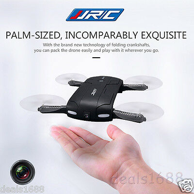 JJRC H37 Elfie Foldable 6-Axis WiFi RC Selfie Quadcopter Auto Return Gyro+Camera