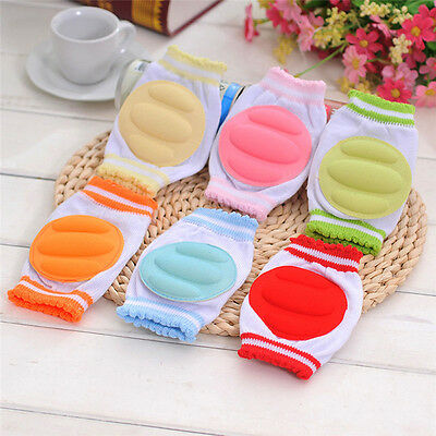 Baby Crawling Knee Pads Cotton Baby Safety Crawling Elbow Cushion Knee Protector