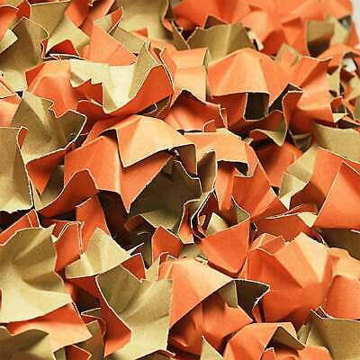 (EUR 0,15/L-EUR 0,18/L) DECOFILL ORANGE Papier Verpackungschips Polsterchips