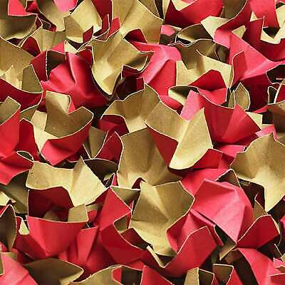 (EUR 0,15/L-EUR 0,18/L) DECOFILL ROT Papier Verpackungschips Polsterchips