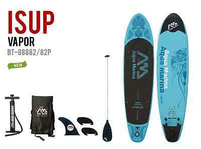 """Aqua Marina Breeze Inflatable SUP 10'10"""" Stand Up Paddle Board w/ Paddle Package"""