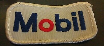 Mobil Petroleum Fuel Oil Embroidered Cloth Patch