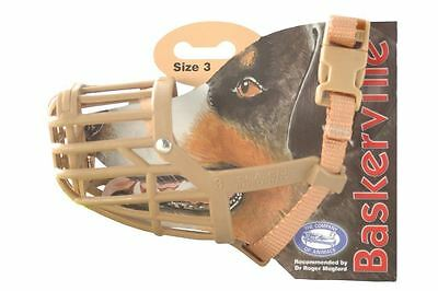 Company of Animals Baskerville Muzzle Size 3 & 4 Ideal for Handling & Grooming