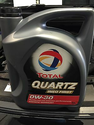 Total Quartz Ineo First 0w30 Engine Oil 5 Litres - 5 Citroen / Peugeot / Ford