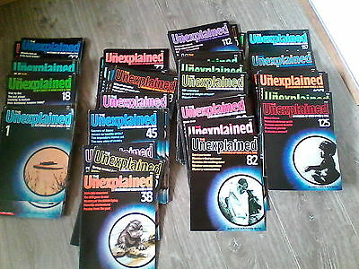 'The Unexplained Mysteries of mind and Space' magazines