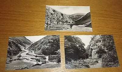 Postcards Real Photograh B&W 1950s Dovedale