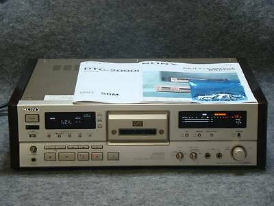 SONY DAT deck DTC-2000ES used very good condition frJAPAN