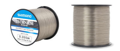 Shimano Technium Invisitech Line Bulk Spool - Clear Carp Fishing Mono Line