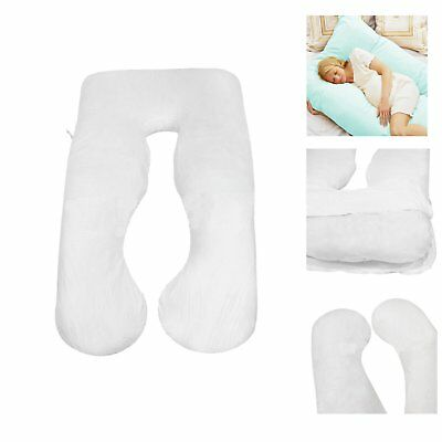U Shape Total Body Pillow Pregnancy Maternity Comfort Support Cushion Sleep HM