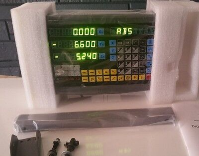 3 Axis Digital ReadOut DRO kit for Milling, Lather, Router, 3D Printer-Brand New