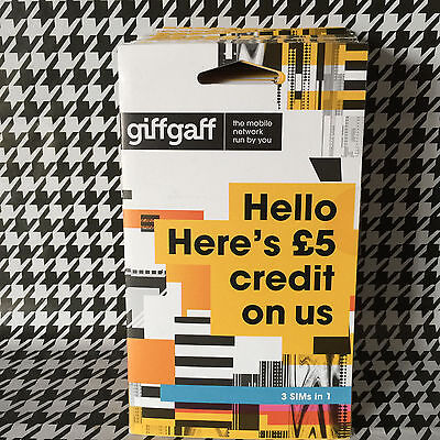 Job Lot Of Giffgaff Mobile Phone Sim Cards