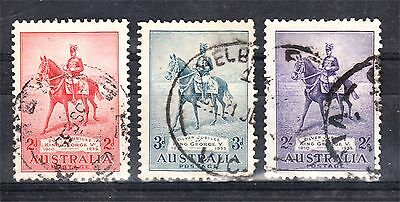 1935 Kgv Silver Jubilee Set To 2/- Used (A39)