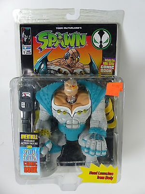 1994 McFarlane Spawn - Overtkill -- MOSC - NOS