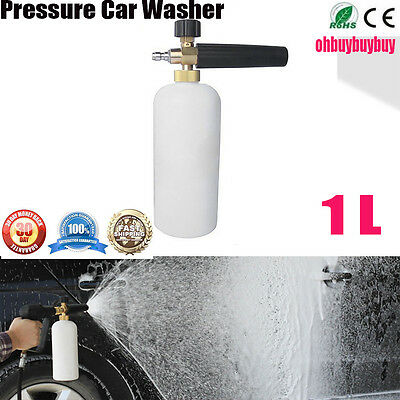 Pressure Washer Wash 1/4 Adjustable Snow Foam Lance Water Cannon Car Washing BY