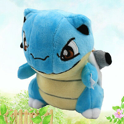 New Pokemon Blastoise Plush Doll Soft Stuffed Animal Toy 15cm 6in Xmas Gift