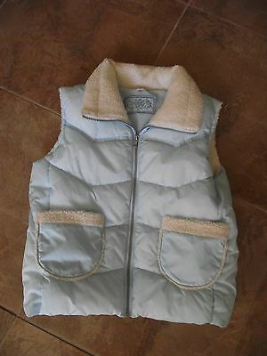 Age 12 - 13 Years - Pale Blue Fleece Lined Gilet