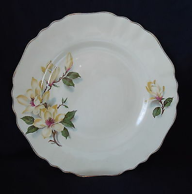 """J & G Meakin Side plate & Saucer 1930's' """" Yellow Magnolia """" Rare . .... ....."""