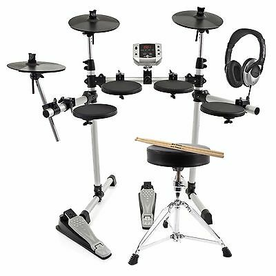 New Digital Drums 400 Compact Electronic Drum Kit Package Deal