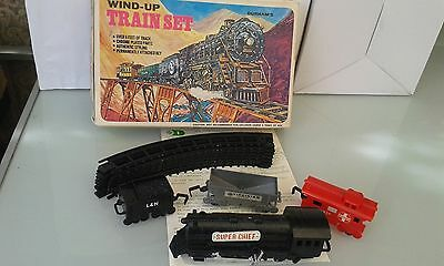 Vintage Durhams Wind Up Train Set. Fully Working