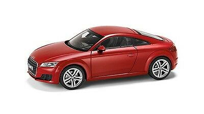 Genuine Audi New TT Coupe 1:43 Scale Model Car - Tango Red
