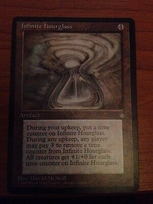 Magic the gathering Ice age Infinite Hour glass