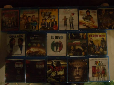 BLU RAY WHOLESALE LOT 10 DIFFERENT BLU RAYS 100 each 1000 Pieces.