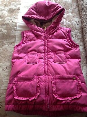 Juicy Couture Girls Age 12/13 Down Winter Gilet