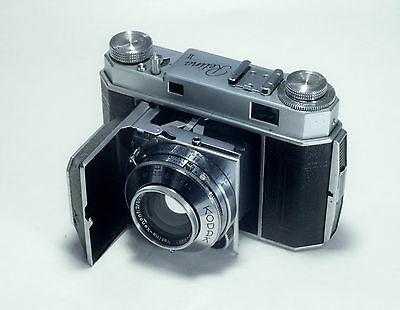Kodak Retina II with Schneider F2 lens in great condition, working, film tested