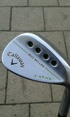 Callaway MD3 milled 54/10 S grind Project X 6.0