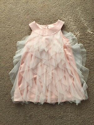 Pretty Pastel Pink Girls Party/Christmas/Bridesmaid Dress - Age 2-3 Years