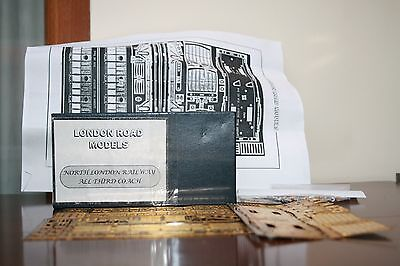 4mm. scale un-built etched brass kit North London Railway All 3rd. carriage