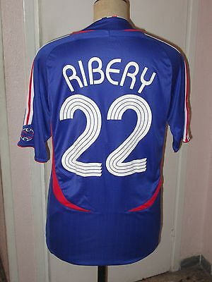 Maillot trikot shirt jersey maglia RIBERY N° 22  EQUIPE DE FRANCE 2006