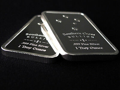 Southern Cross 'Eureka' Silver 1 oz Bullion Bar