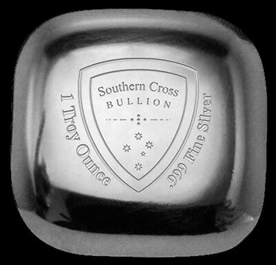 Southern Cross 'Cast' Silver Bullion 1 oz Bar