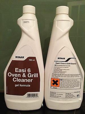 *Job Lot* Ecolab Oven & Grill Cleaner X 27 Bottles