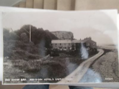 Old postcard : Red Wharf Bay, Anglesey North Wales,