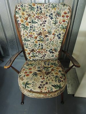 """ERCOL Wingback chair in """"Old Colonial"""" style"""
