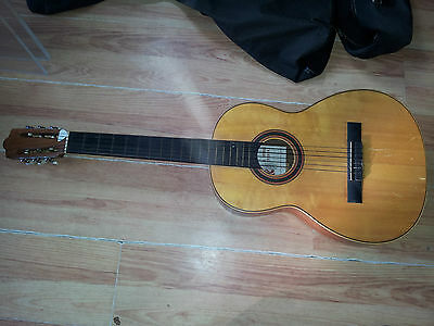 A. DOTRAS CORDOBA ACOUSTIC GUITAR VINTAGE SPANISH with case