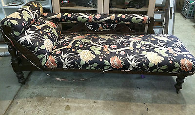 Antique Vintage Miner's Couch, Chaise, Day Bed